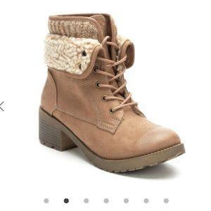 NIB Rock & Candy Spancie Combat Boots